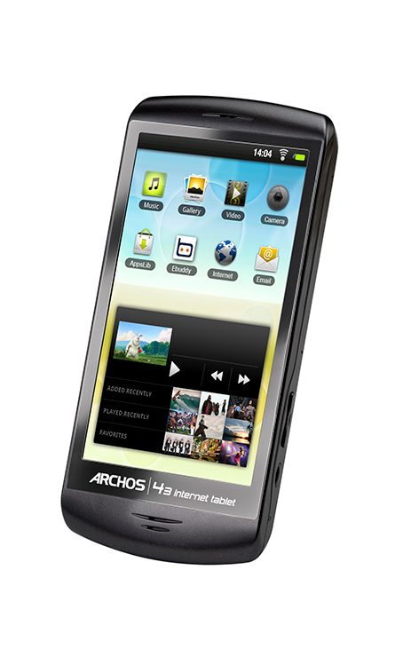Archos 43 Internet Tablet  0