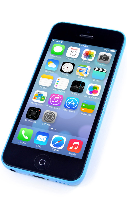 Apple iPhone 5C 4