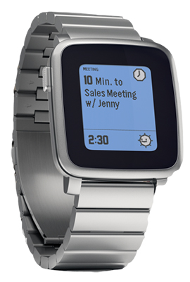 getpebble Pebble Time Steel