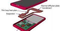 Fujitsu เผยระบบระบายความร้อนในสมาร์ทโฟนแบบใหม่ ยัดฮีทไปป์เข้ามาในมือถือ