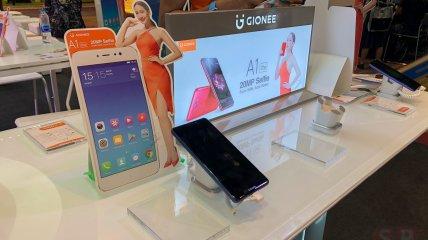 [TME 2017] พาส่องบูธ Gionee น้องใหม่ พร้อมเปิดตัว Gionee M7 Power สมาร์ทโฟนหน้าจอ FullView