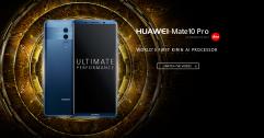 Huawei Mate 10 Series เรือธงแห่งอนาตคที่มาพร้อมสมองกล AI และ กล้องคู่ Leica SUMMILUX f/1.6