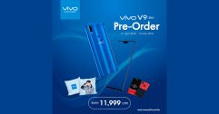 Vivo เปิดจอง รุ่นสุดพิเศษ Vivo V9 FIFA Blue Edition แถมฟรี หมอนแบมแบม และเคส Vivo V9