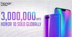 ไม่พูดเยอะ เจ็บคอ !! Honor 10 ขายได้ 3 ล้านเครื่องทั่วโลก ยอดแบรนด์โตขึ้น 150 % !!