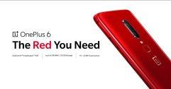 OnePlus 6 Red สีแดงสด หรูหรา มีสไตล์ เปิดให้จองได้แล้ววันนี้ แถมฟรีลำโพง JBL Clip 2