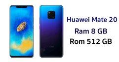 เผย ข้อมูลหน่วยความจำ Huawei Mate 20 มากับแรมสูงสุด 8 GB รอมสูงสุด 512 GB !!
