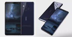 เผยภาพ เร็นเดอร์ Nokia 9 สวย ๆ ครบทุกมุม สมาร์ทโฟนที่มากับกล้องหลังถึง 5 ตัว !!