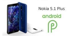 ผู้ใช้งาน Nokia 5.1 Plus ได้ใช้งานระบบปฏิบัติการ Android™ 9 Pieต้อนรับปีใหม่