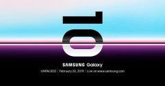 """Galaxy S10? ฉลองครบรอบ 10 ปี """"ซัมซุง"""" เตรียมเปิดตัวสมาร์ทโฟนรุ่นใหม่ล่าสุด 21 กุมภาพันธ์ นี้"""
