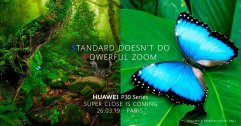 Huawei ปล่อยทีเซอร์ P30 Series มาประชัน S10 พร้อมชูจุดเด่นเรื่องการซูมที่สุดยอดยิ่งขึ้น