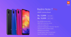 Xiaomi เปิดตัว Redmi Note 7 Pro ในอินเดีย Snap 675 แรม 4 เปิดราคาที่ 6,200 บาท