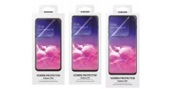 ภาพหลุดฟิล์มหน้าจอ Galaxy S10 และ S10+ จาก Samsung เอง พบไม่จำเป็นต้องเว้นช่องสำหรับสแกนลายนิ้วมือ