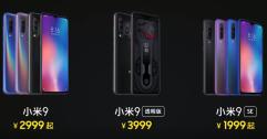 Xiaomi เปิดตัว Mi 9 อย่างเป็นทางการ เปิดราคาที่ 14,xxx บาท พร้อมเปิดตัว Mi 9 EE และ Mi 9 SE ที่ราคาเริ่มต้นไม่ถึงหมื่น