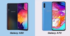 เปรียบเทียบ Samsung Galaxy A50 vs Galaxy A70 แตกต่างกันอย่างไร แล้วเลือกรุ่นไหนดี?