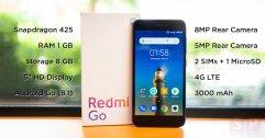 [Review] Redmi Go มือถือรุ่นเล็กจาก Xiaomi พร้อมระบบ Android Go ในราคาเบา ๆ 2,699 บาท