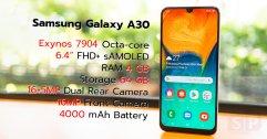[Review] Samsung Galaxy A30 มือถือรุ่นกลางสุดคุ้ม จอเต็ม เลนส์ไวด์ แบตอึดในราคา 7,290 บาท