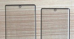 กระจกกันรอยหน้าจอ Samsung Galaxy Note 10 และ Note 10 Pro มาแล้ว ยืนยันเจาะรูกล้องตรงกลาง