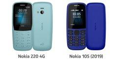 HMD เปิดตัว Nokia 220 4G และ Nokia 105 (2019) ฟีเจอร์โฟนรุ่นใหม่ ราคาเริ่มพันต้น ๆ และไม่ถึง 500 บาท