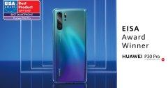 """HUAWEI P30 Pro คว้ารางวัล """"สมาร์ทโฟนยอดเยี่ยมประจำปี 2019 - 2020"""" จาก EISA"""