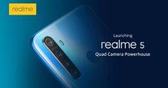 เปิดสเปค realme 5 และ realme 5 Pro กล้อง 4 ตัว ชิป Snap แบต 5000 mAh
