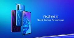 เปิดราคา realme 5, realme 5 Pro ในไทย จัดเต็ม 4 กล้อง สเปคโหด ราคาเริ่มต้น 4,599 บาท