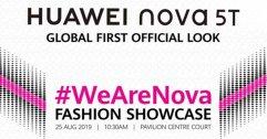Huawei เตรียมเปิดตัว Nova 5T ที่มาเลเซียในวันที่ 25 สิงหาคมนี้