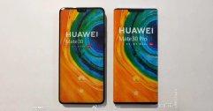 หลุดภาพ Huawei Mate 30 และ Mate 30 Pro อีกชุด ทั้งเทียบขนาด โชว์ขอบจอ และโชว์สีเครื่อง