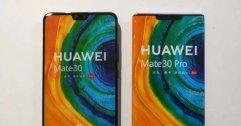 หลุดภาพพร้อมสเปคจริง Huawei Mate 30/30 Pro