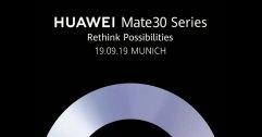 Huawei ประกาศจัดงานเปิดตัว Mate 30 วันที่ 19 กันยานี้ + เปิดตัวหูฟังใช้ชิป Kirin ในงาน IFA 2019