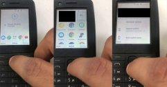 หลุดคลิปพร้อมภาพมือถือคล้ายฟีเจอร์โฟนจาก Nokia รัน Android 8.1 ได้ พร้อมแอปจาก Google ในเครื่อง