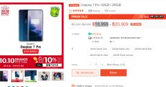 Flash Sales - Oneplus 7 Pro 128GB / 256GB สมาร์ทโฟนเทพ ราคาเริ่มต้น 17,099 เท่านั้น