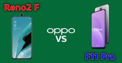 เปรียบเทียบสเปค OPPO Reno2 F vs OPPO F11 Pro แตกต่างกันยังไง