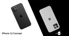 ชมภาพเรนเดอร์ iPhone 12 มาพร้อมดีไซน์เหลี่ยมสุดคลาสสิกแบบ iPhone 4 มี 4 กล้อง และติ่งเล็กลง