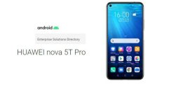 เผยสเปคและดีไซน์ HUAWEI Nova 5T Pro จาก Android Enterprise