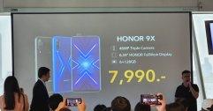 เข้าไทยแล้ว!! HONOR 9X สมาร์ทโฟนไร้ติ่ง Kirin710F RAM 6GB ใช้ Google ได้