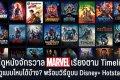 ดูหนังจักรวาล Marvel เรียงตาม Timeline ยังไง? ดูแบบไหนได้บ้าง? ที่นี่มีคำตอบ! อัพเดท 2021