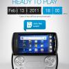 Sony Ericsson ประกาศ Xperia Play อย่างเป็นทางการในวันที่ 13 กุมภาพันธ์นี้