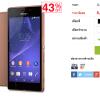 iTruemart ลดราคา Sony Xperia M2 Aqua มือถือกันน้ำ สเปคใช้ได้ เหลือเพียง 5,xxx บาท