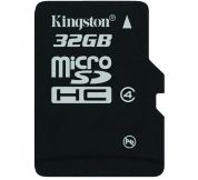 คิงส์ตันเปิดตัวการ์ด microSDHC เพิ่มความจุเต็มอิ่ม 32GB
