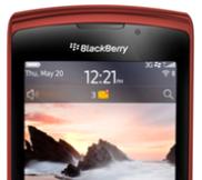 BlackBerry Torch 9800 สีแดง