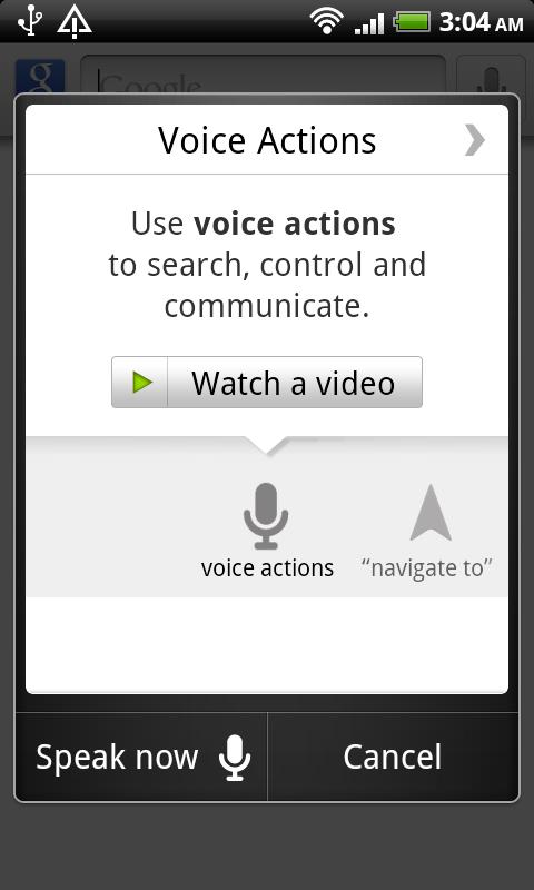 HTC DS HD Google Search 2