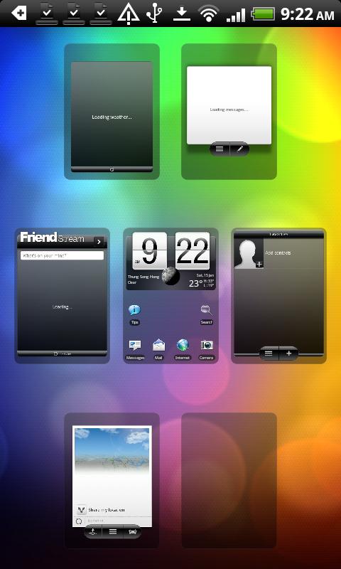 HTC DS HD Sense UI 2