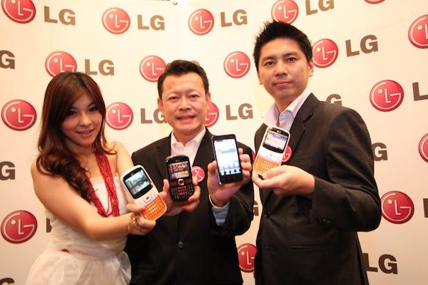 LG ส่ง Smartphone และ Featurephone บุกตลาดในปี 2554 พร้อมมี Optimus 2x/Black มาโชว์ในงาน