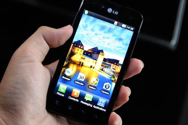 LG Optimus 2x Black 60