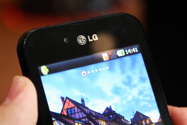 LG Optimus 2x Black 64
