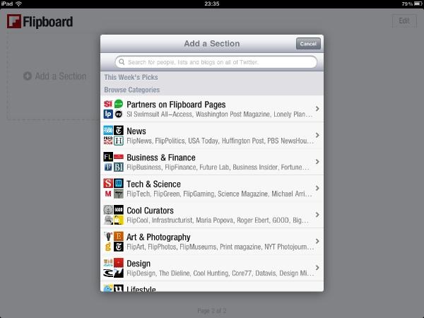 Review Filpboard 19