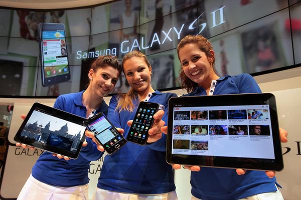 Galaxy S II Galaxy Tab 10.1