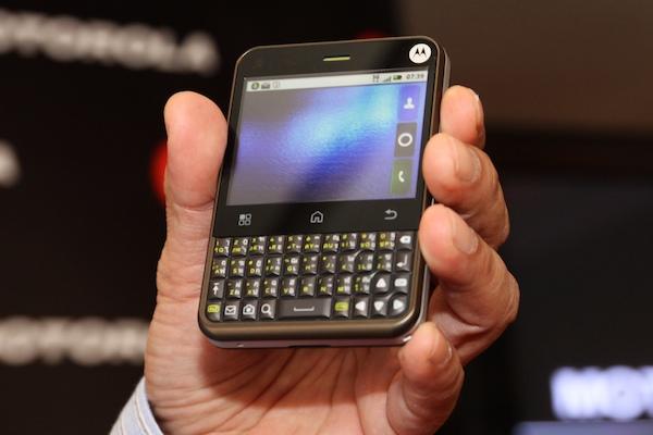 PR Motorola Smartphone Defy 365