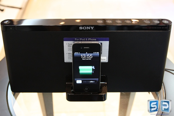 Review iPod Dock RDP X50iP 17