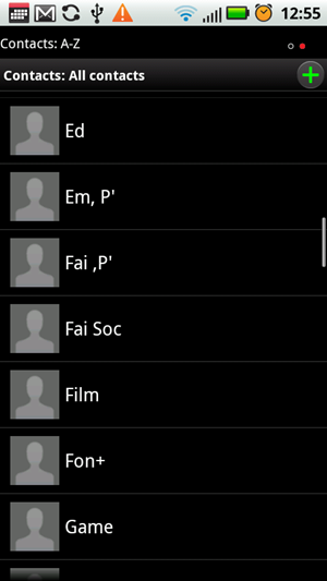 contact list1